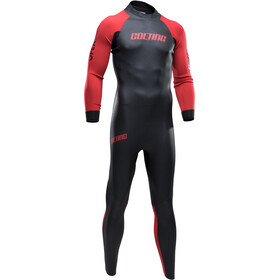 Colting Wetsuits Open Sea Wetsuit Heren, black/red